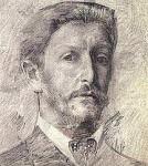 Михаил Врубель, автопортрет, краткая биография